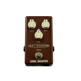 Carl Martin Single Channel AC-Tone Overdrive Guitar Effects Pedal