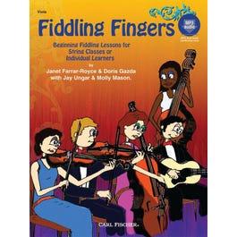 Carl Fischer Fiddling Fingers -Beginning Fiddling- Viola-Book +MP3