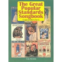 Image for The Great Popular Standards Songbook for Voice and Piano from SamAsh