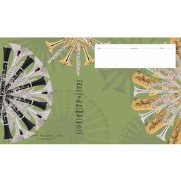 Image for AV2340 Large Band Sheet Music Folio from SamAsh