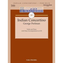 Carl Fischer Perlman-Indian Concertino -CD SOLO SERIES-Score and Download MP3
