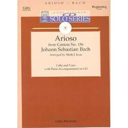 Image for Bach Arioso from Cantata No.156 for Cello and Piano Accompaniment CD from SamAsh