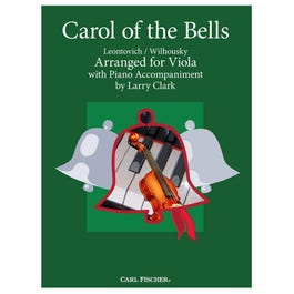 Image for Clark-Carol of the Bells-Viola with Piano from SamAsh