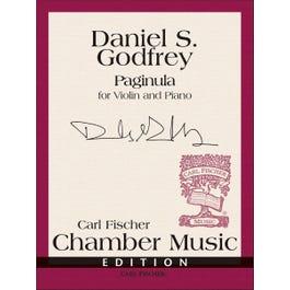 Carl Fischer Godfrey -Paginula-Score and Parts; Book with Insert-Violin / Piano