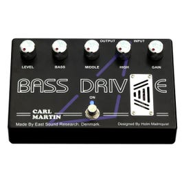 Carl Martin Bass Drive Tube Preamp/Overdrive Bass Effects Pedal