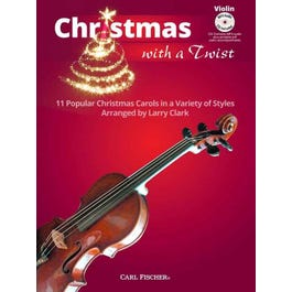 Carl Fischer Clark-Christmas With a Twist -Score and Audio CD