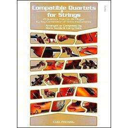 Carl Fischer Compatible Quartets for Strings-Cello Book & CD