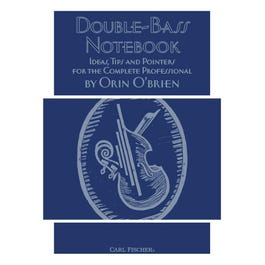 Image for Orin O'Brien-Double-Bass Notebook from SamAsh