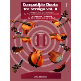 Carl Fischer Compatible Duets for Strings Vol. II - Bass