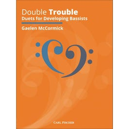 Carl Fischer McCormick-Double Trouble Duets for Developing Bassists