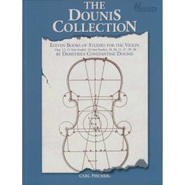 Carl Fischer Dounis-Collection Books of Studies for the Violin