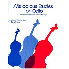 Image for Melodious Etudes for Cello from SamAsh