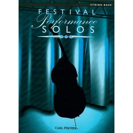 Carl Fischer Festival Performance Solos -Contrabass with Piano