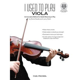 Carl Fischer I Used to Play Viola-Book & Download
