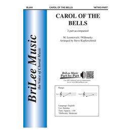 Carl Fischer Carol of the Bells -2nd Part