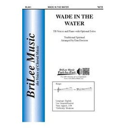 CF Peters Wade in the Water-Voice sheet music