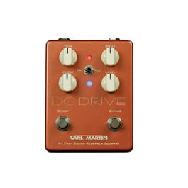 Carl Martin DC-Drive Overdrive Guitar Effects Pedal