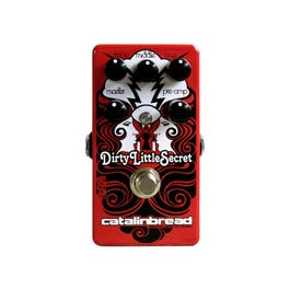 Image for Dirty Little Secret Red Overdrive Guitar Effect Pedal from SamAsh