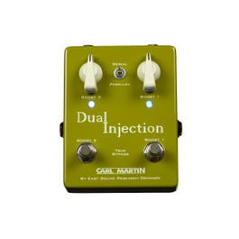 Carl Martin Dual Injection 2-in-1 Boost Guitar Effects Pedal