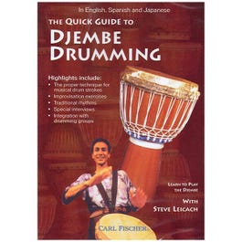 Image for The Quick Guide to Djembe Drumming (DVD) from SamAsh