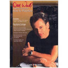 Image for How to Practice w/Dave Weckl (DVD) from SamAsh