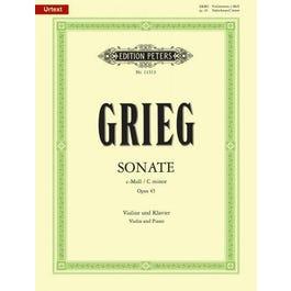 CF Peters Sonata No. 3 in c minor Op. 45 -Score and Part
