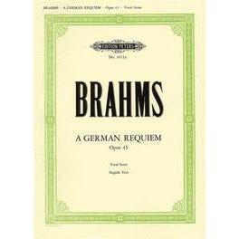 CF Peters Brahms-German Requiem