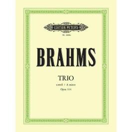 CF Peters Brahms-Piano Trio, Op.114