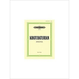 CF Peters Khachaturian-Sonatina in C (Piano Solo) (English and German Edition)