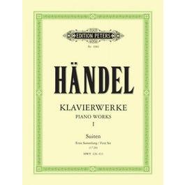 CF Peters Handel-Keyboard Works Vol. 1
