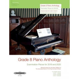 CF Peters Grade 8 Piano Anthology Examination Pieces for 2019 and 2020