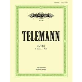 CF Peters Telemann-Suite in A Minor