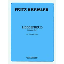 Carl Fischer Liebesfreud (Love's Joy) for Violin and Piano