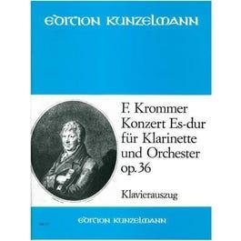 CF Peters Krommer-Concerto in E flat major op. 36