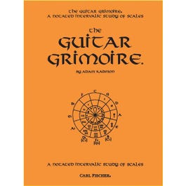 Carl Fischer Guitar Grimoire: A Notated Intervalic Study of Scales