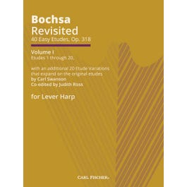 Carl Fischer Bochsa Revisited - 40 Easy Etudes, Op. 318 - Vol I