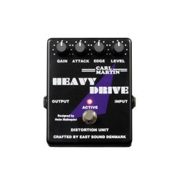 Carl Martin Heavy Drive Distortion Guitar Effects Pedal