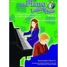 Charles Dumont & Son It's Piano Lesson Time Book 3