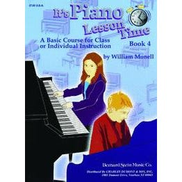 Charles Dumont & Son It's Piano Lesson Time Book 4