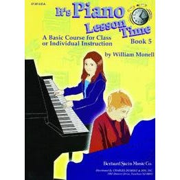 Charles Dumont & Son It's Piano Lesson Time Book 5