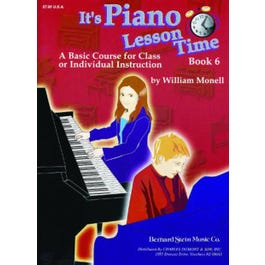 Charles Dumont & Son It's Piano Lesson Time Book 6