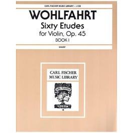 Image for Franz Wohlfahrt/Sharp: 60 Etudes from SamAsh