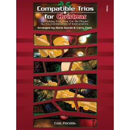 Carl Fischer Compatible Trios for Christmas-Viola