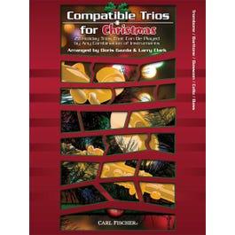 Carl Fischer Compatible Trios for Christmas-Trombone, Baritone, Bassoon, Cello, Bass