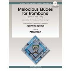 Image for Melodious Etudes for Trombone