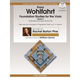 Carl Fischer Wohlfahrt-Foundation Studies for the Viola, Book 2