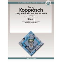 Carl Fischer Kopprasch-Sixty Selected Studies for Horn - Book 1 -Book & Download
