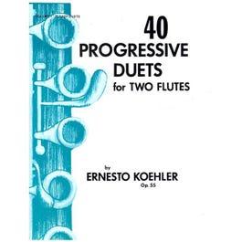 Image for 40 Progressive Duets for Flute from SamAsh