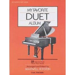 Carl Fischer My Favorite Duet Album (Piano)