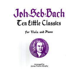 Image for Bach: Ten Little Classics Viola Solo from SamAsh